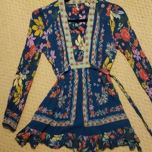Free people thin tight dress